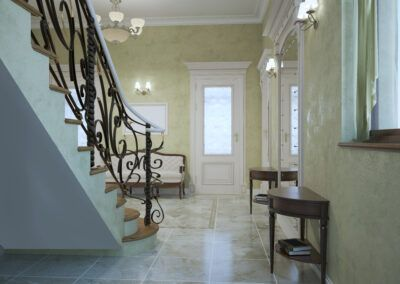 Entrance hall classic style