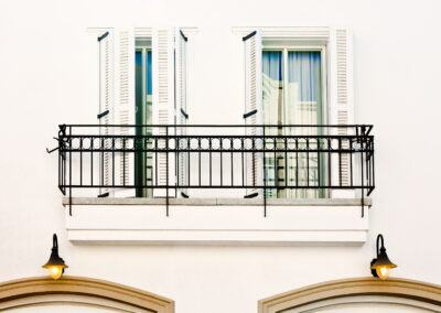 Ornamental Steel Railing