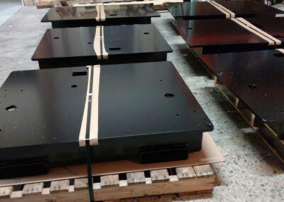 Poweder Coating Black frames