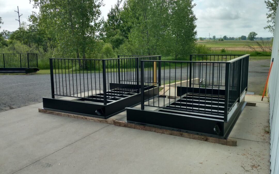 Heavy Duty Steel Balconies